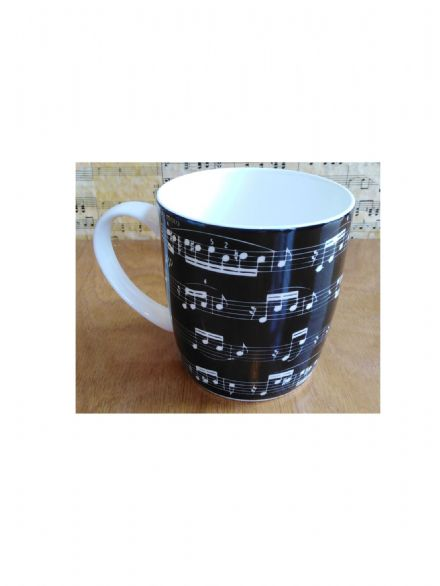 Arpeggio Musical Theme Bone China Mug